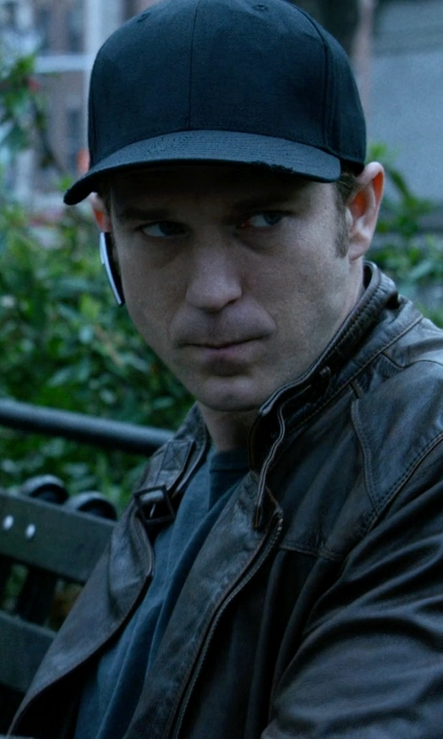 Wil Traval with Hugo Boss Men's Sefon Hat in Jessica Jones