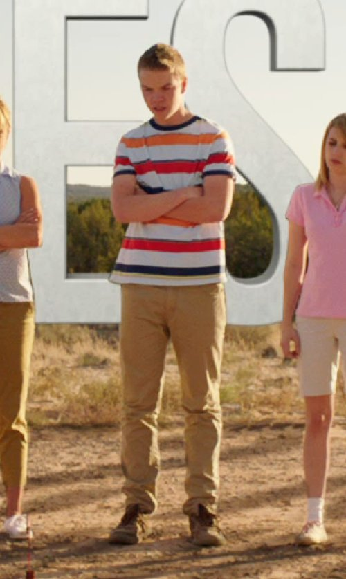 Will Poulter with All Day The Chino Pants in We're the Millers