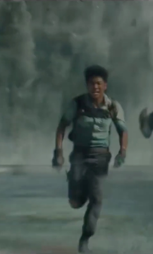 Ki Hong Lee with G-Star Cargo Trousers in The Maze Runner