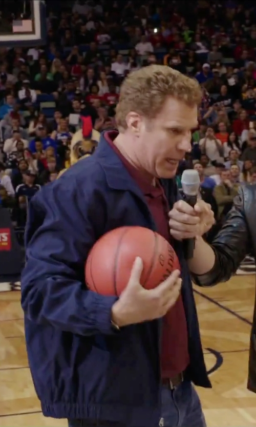 Will Ferrell with Polo Ralph Lauren Core Classic Windbreaker Jacket in Daddy's Home
