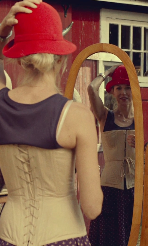 Naomi Watts with La Perla Heritage Corset in While We're Young
