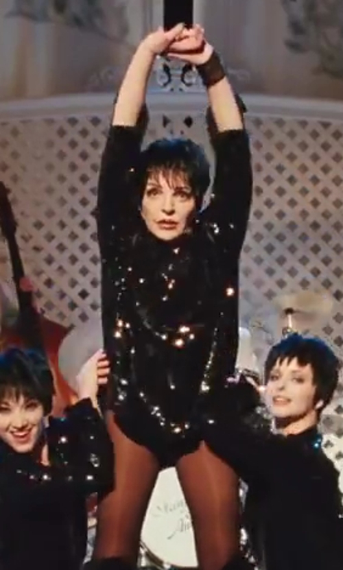 Liza Minnelli with Junya Watanabe Comme Des Garçons Sequin-Front T-shirt in Sex and the City 2