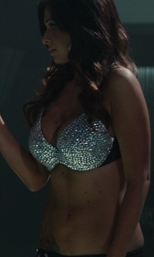 Unknown Actor with Casual Outfitters Beaded Sequin Bra in Ride Along