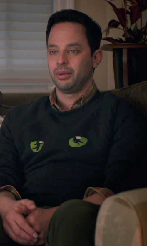 Nick Kroll with Bills Khakis Long Sleeve Cumberland Twill Shirt in Adult Beginners