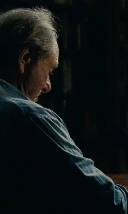 Harris Yulin with Walls Men's Denim Shirt Long Sleeve Shirt in The Place Beyond The Pines