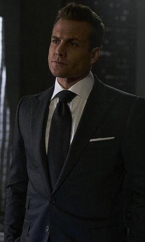 Gabriel Macht with Rag & Bone Solid Long-Sleeve Sport Shirt in Suits