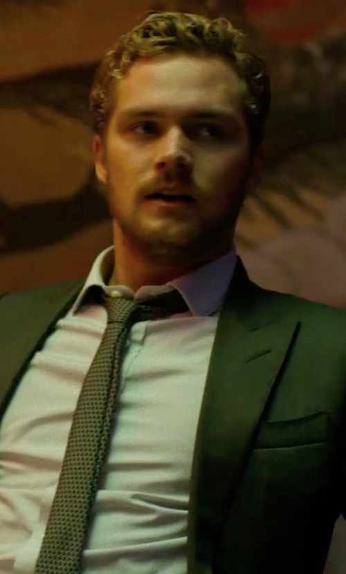 Finn Jones with Boss Huge Genius Slim-Fit Basic Suit in Marvel's The Defenders
