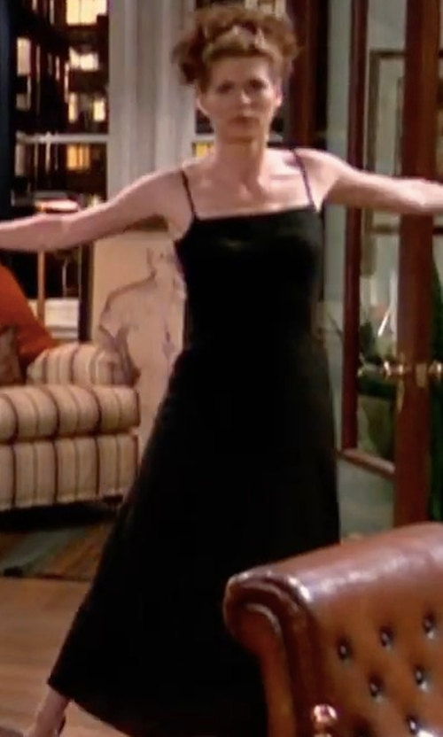 Debra Messing with Stone_Cold_Fox Mystic Dress in Will & Grace