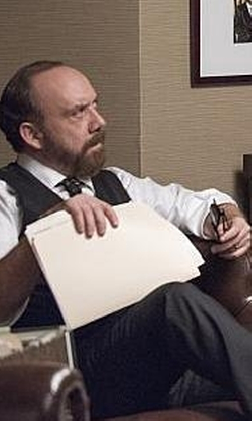 Paul Giamatti with Persol Prescription Eyeglasses in Billions