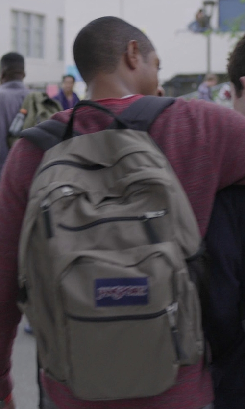 Steven Silver with JanSport Big Student Backpack in 13 Reasons Why