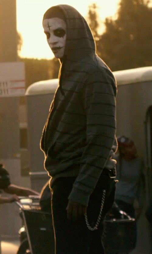 Unknown Actor with J Brand Kane Sepia Jeans in The Purge: Anarchy