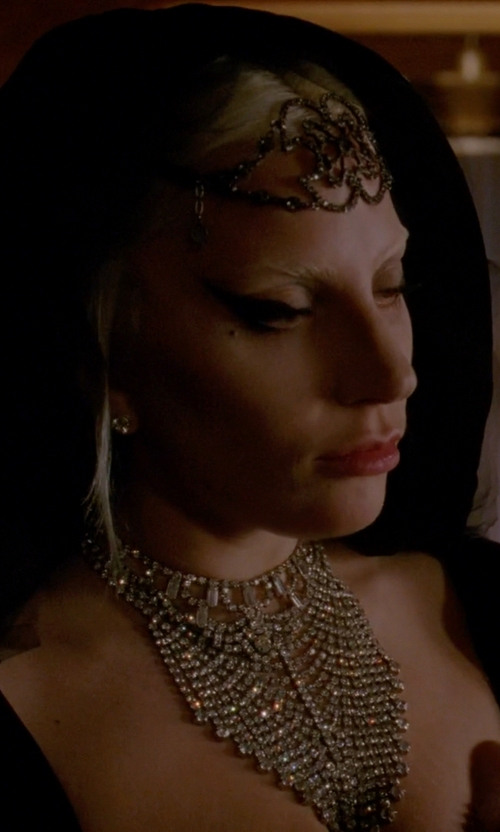 Lady Gaga with Fenical Tiara Headdress in American Horror Story