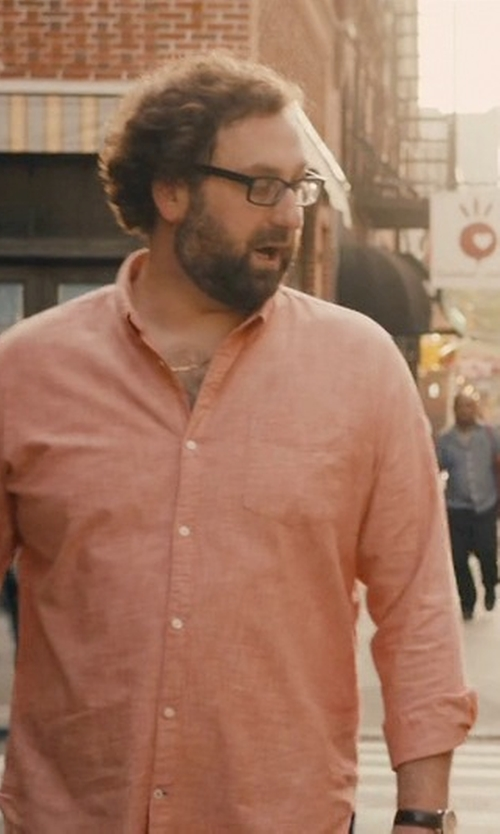 Eric Wareheim with Private Eyes Duggan Rectangular Reading Glasses in Master of None