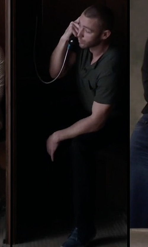 Jake McLaughlin with Onitsuka Tiger Lawnship Sneakers in Quantico