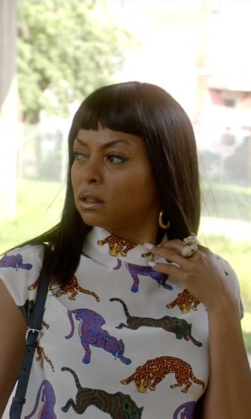 Taraji P. Henson with Stella McCartney Molly Top in Empire
