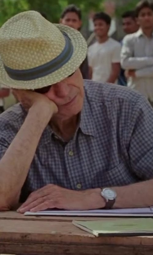 Alan Arkin with Montblanc TimeWalker Automatic Watch in Million Dollar Arm