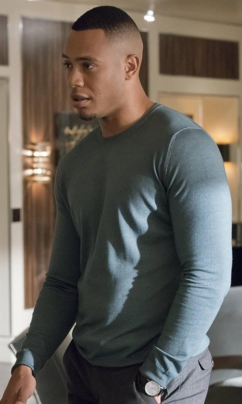 Trai Byers with Daniel Wellington Sheffield Watch in Empire