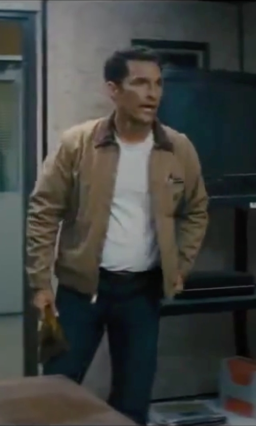 Matthew McConaughey with BLK DNM Slim Fit Classic Jeans in Interstellar
