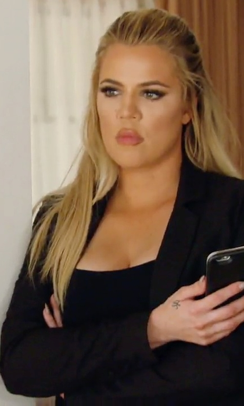 Khloe Kardashian with J.Crew Thompson Blazer in Keeping Up With The Kardashians
