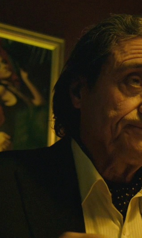Ian McShane with Moods of Norway Slim Fit Stein Tonning Suit Jacket in John Wick