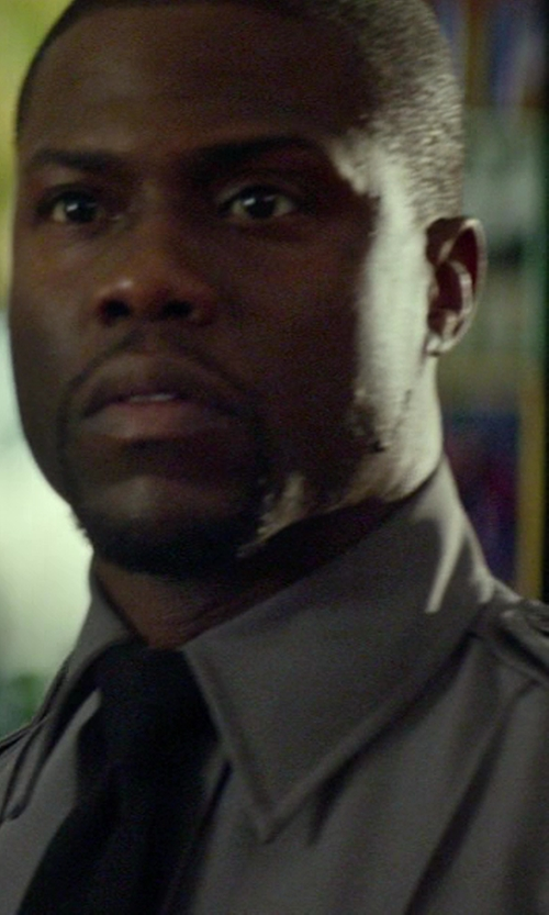 Kevin Hart with Uniforms Warehouse Long Sleeve Uniform Shirt in Ride Along