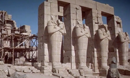 Unknown Actor with Karnak Temple Complex Luxor, Egypt in The Spy Who Loved Me