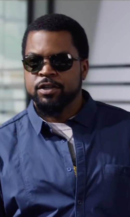 Ice Cube with Sunspel Crew Neck Cotton Underwear T-Shirt in Ride Along 2