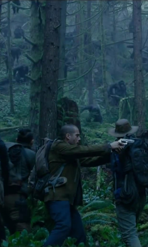 Kirk Acevedo with Hardy Adderstone Soft Shell Jacket in Dawn of the Planet of the Apes