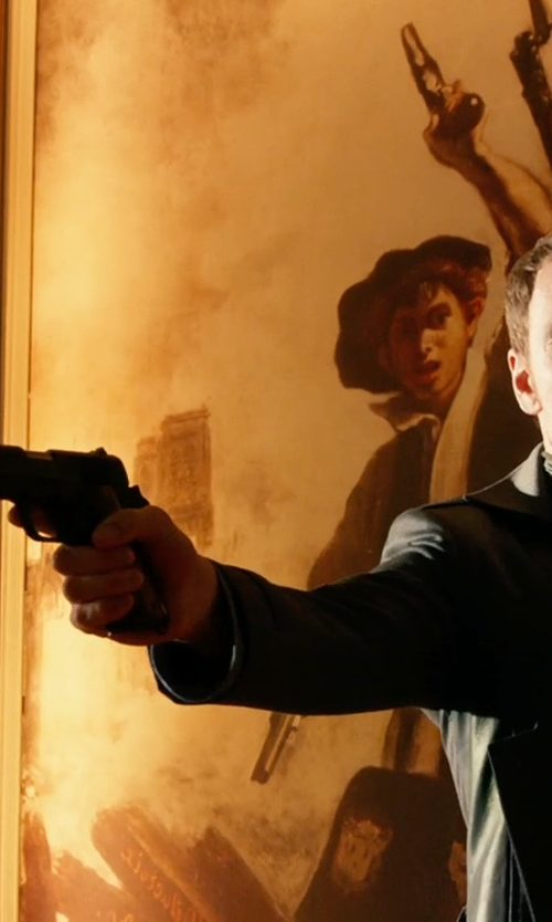Michael Fassbender with Remington M1911A1 in X-Men: Days of Future Past
