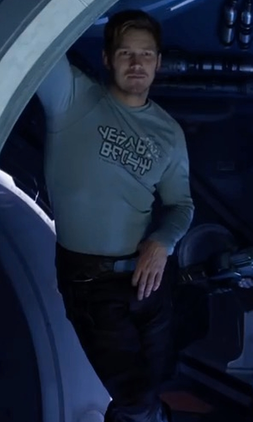 Chris Pratt with Maison Margiela Straight-Leg Cargo Trousers in Guardians of the Galaxy Vol. 2