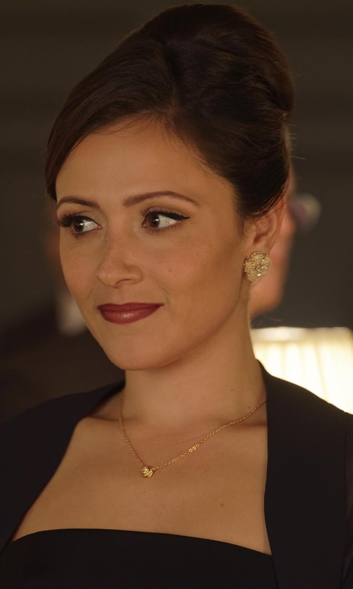 Italia Ricci with Ippolita Glamazon Mini Disc Pendant Necklace in Designated Survivor
