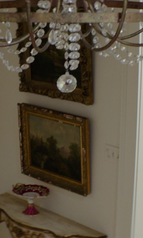 Michelle Monaghan with The Gallery Wrought Iron Crystal Chandelier in The Best of Me