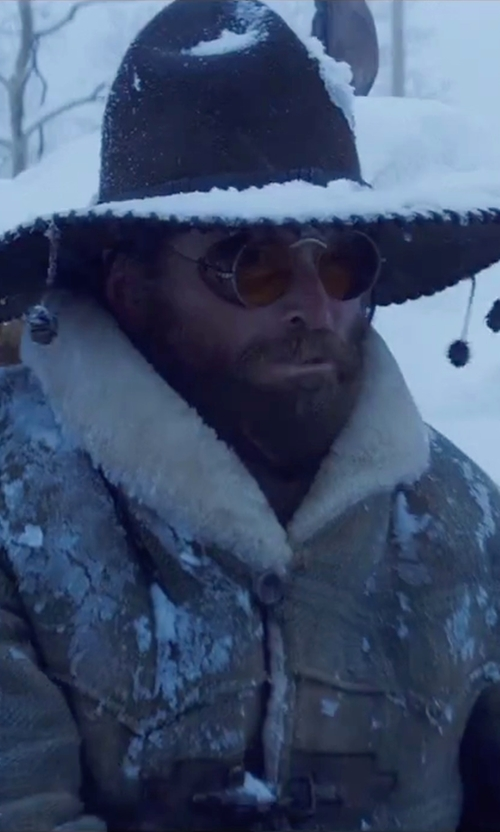 James Parks with Old Focals Custom Made Goggles in The Hateful Eight