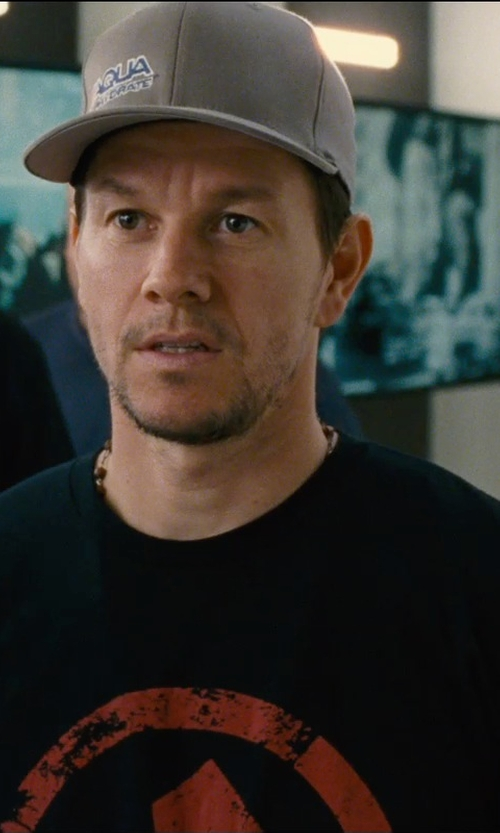 Mark Wahlberg with Marked Nutrition Get Marked Promotional Shirt in Entourage