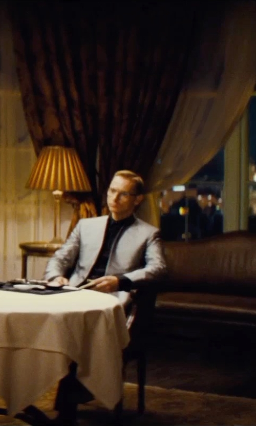 Sean Harris with Dolce & Gabbana Slim-Fit Poplin Dress Shirt in Mission: Impossible - Rogue Nation