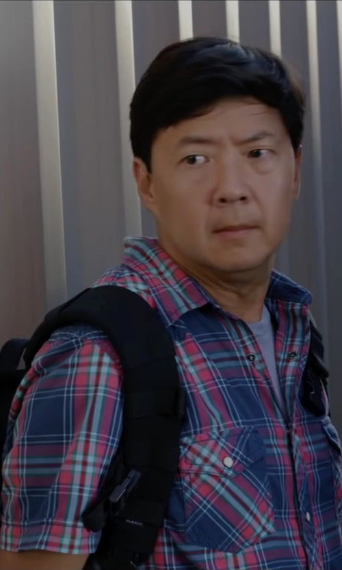 Ken Jeong with Salomon Synapse Flow in Ride Along 2