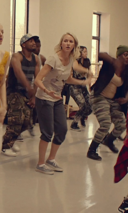 Naomi Watts with Vince Silk Jogger Pants in While We're Young