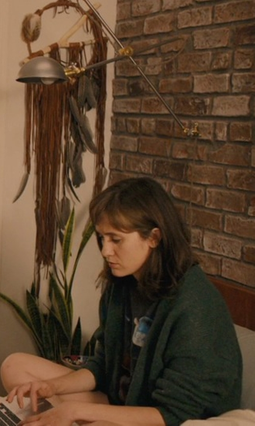 Noël Wells with C By Bloomingdale's Shawl-Collar Cashmere Cardigan in Master of None