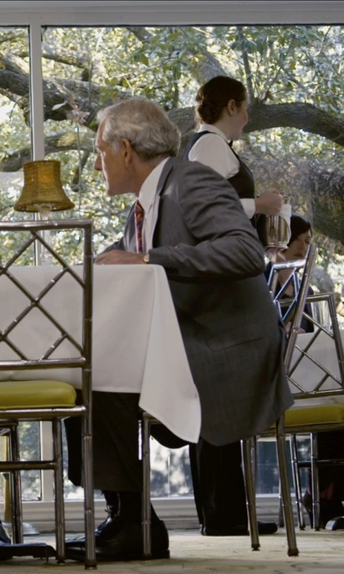 Victor Garber with Dolce & Gabbana Stretch Cotton 'Gold' Point Collar Dress Shirt in Self/Less
