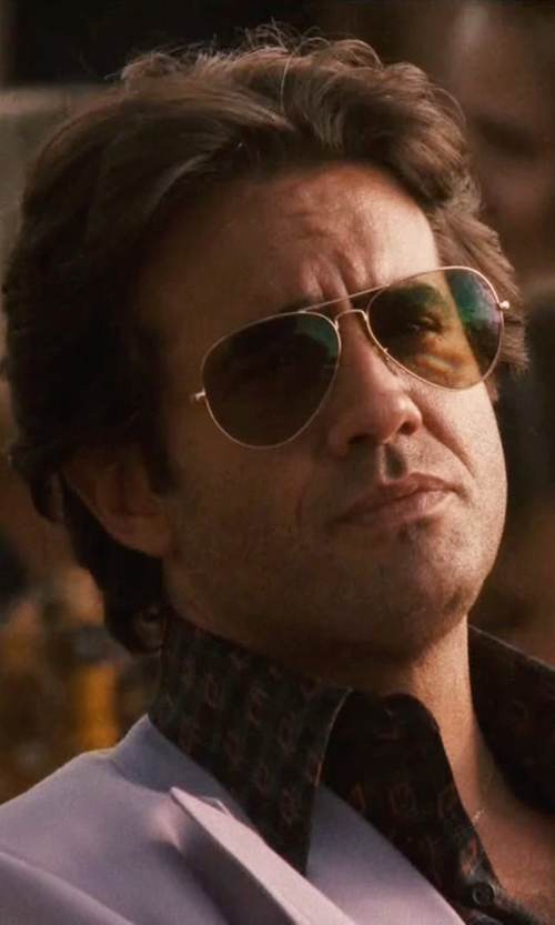 Bobby Cannavale with Gucci Aviator Sunglasses in Vinyl