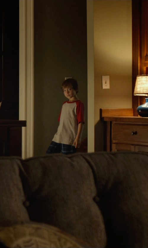 Jacob Tremblay with Komar Kids Space Cozy Fleece Pajama Pants in Before I Wake