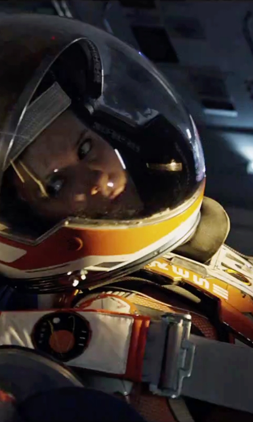 Kate Mara with Janty Yates (Costume Designer) Custom Made Astronaut Suit (Beth) in The Martian