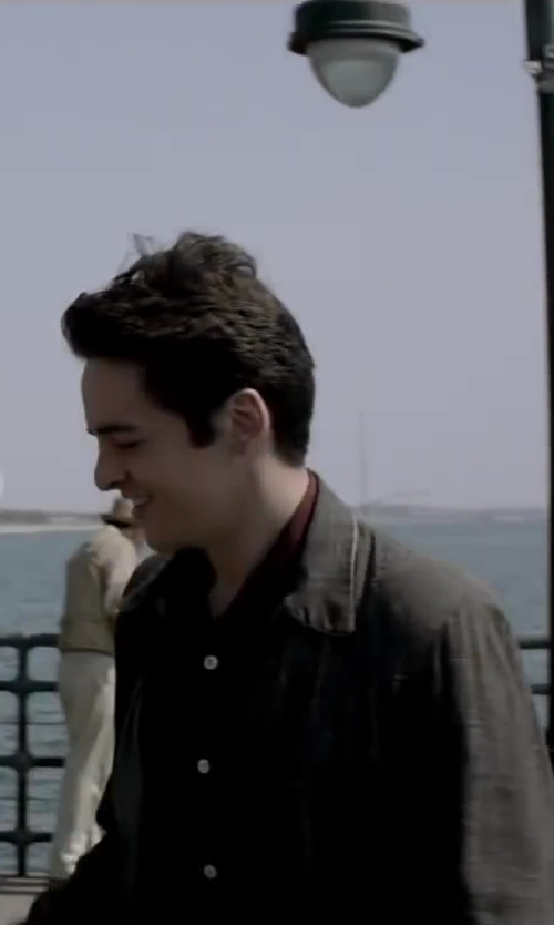 Vincent Piazza with AG JEANS THE WING SHIRT - OBERON in Jersey Boys