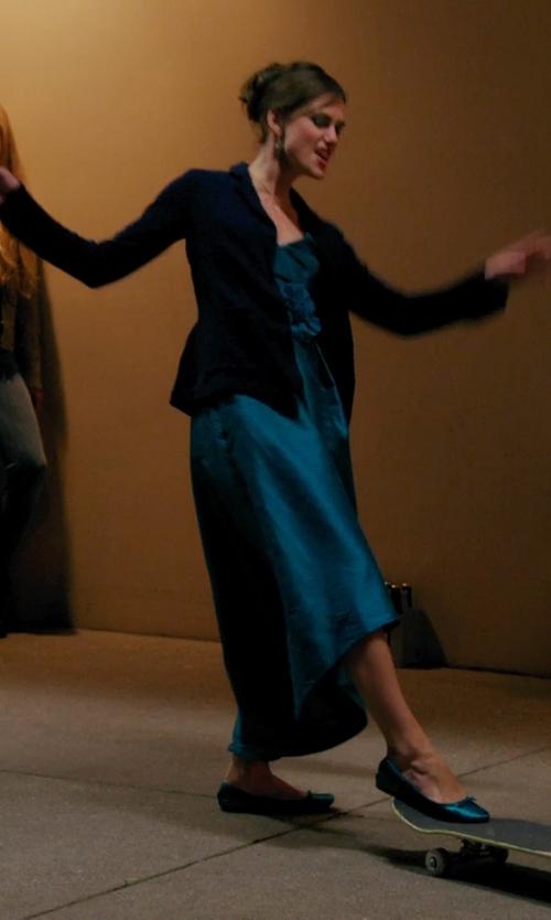 Keira Knightley with Smythe One Button Blazer in Laggies