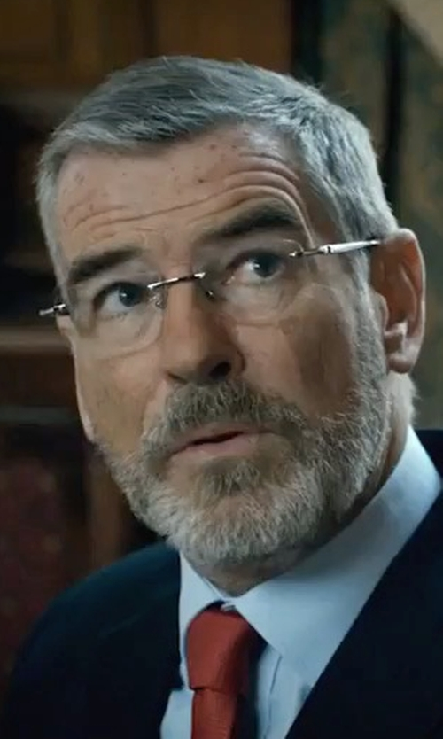 Pierce Brosnan with Montblanc Gunmetal Eyeglasses in The Foreigner