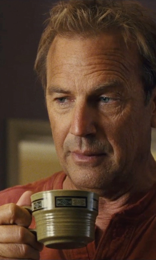 Kevin Costner with Roof Snow Ceramic Tea Cup in McFarland, USA