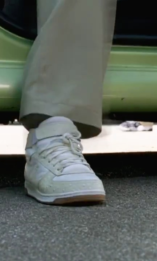 Amanda Bynes with Nike Men's Air Force 1 High Basketball Shoes in She's The Man