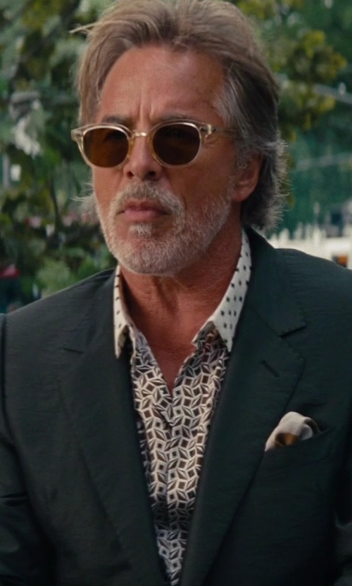 Don Johnson with Oliver Peoples Men's NDG Sunglasses in The Other Woman
