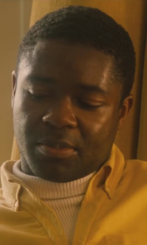 David Oyelowo with Topman Turtleneck Sweater in Lee Daniels' The Butler
