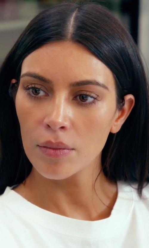 "Kim Kardashian West with 032c ""Sade Love"" Longsleeve T-Shirt in Keeping Up With The Kardashians"
